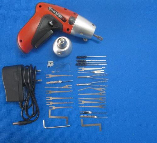 Pistola eléctrica de cerrajero (inalámbrica)