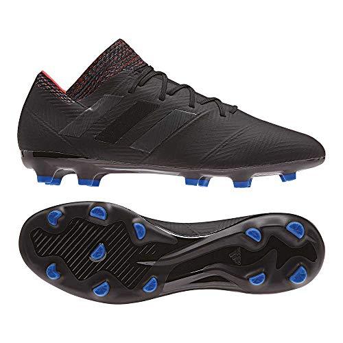 adidas Herren Nemeziz 18.2 Fg Fußballschuhe, Mehrfarbig Negbás/Fooblu 000, 43 1/3 EU - Adidas-fußball-schuhe-indoor
