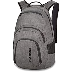 Dakine Campus 25L Rucksack, Laptop-Fach, Rücken gepolstert, Farbe: Carbon