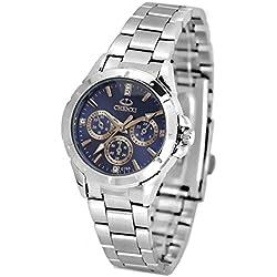 ufengke® fashion casual luminous rhinestone wrist watch,waterproof watch for women-blue,decorative small dials