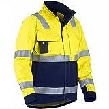 """Blakläder 406418113389 X L taglia XL CL.3 Giacca """"ad alta visibilità, colore: giallo/blu"""