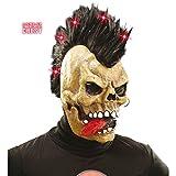 Rocker Calavera Máscara Calavera Máscara cráneo máscara Calavera Máscara Halloween Horror máscara