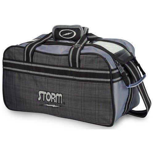 Storm Bowlingtasche, anthrazit/Plaid/schwarz, S26127 (Storm 2-ball Bowling Tasche)