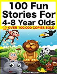 100 Fun Stories for 4-8 Year Olds (Perfect for Bedtime & Young Readers) (Yellow Series Boo