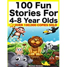 100 Fun Stories for 4-8 Year Olds (Perfect for Bedtime & Young Readers) (Yellow Series) (English Edition)