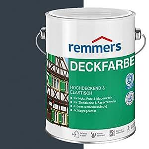 remmers aidol deckfarbe 750ml anthrazitgrau ral 7016. Black Bedroom Furniture Sets. Home Design Ideas