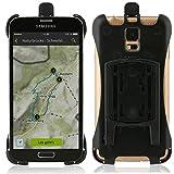 Wicked Chili Halteschale für Samsung Galaxy S5 / S5 Neo für KFZ Scheibenhalterung, KFZ Lüfterhalterung oder Fahrradhalterung (passgenau, Made in Germany) schwarz