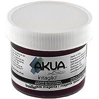 Akua Intaglio Ink 2 Oz Quinacridone Magenta by AKUA
