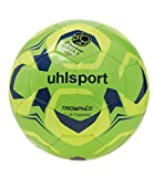 uhlsport–triomphéo Club Training–Excellent Performance Hand Stitched Football–Neon Green/Neon Yellow