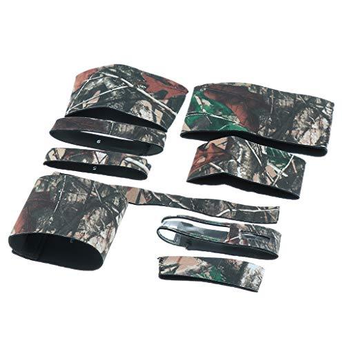 Tuch Kamera Objektiv Schutzmantel für Sigma 150-600mm C, Regenschutz, Kratzfest - Holz Tarnung ()