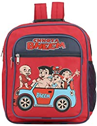 Aadhunik Libaas Chhota Bheem Polyester School Bag, Travelling Bag, Carry Bag, Picnic Bag, Backpack For Girls &...