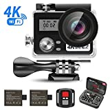 SEGURO Action Sport-Kamera 4K WiFi 1080P HD 16MP Cam 170 Ultra-Weitwinkel,...