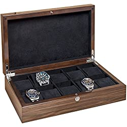 New Beco Crystal Watch Collectors Box in Limted Edition Colour Makassar 309377