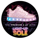 Heelys Premium 2 Low LED Schuhe rosa Light Pink Hologram, 31