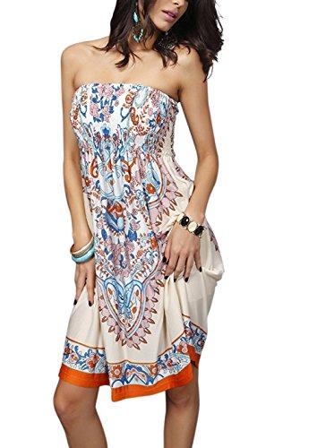 Landove Damen Kleid color 13