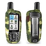 TUSITA Custodia per Garmin GPSMAP 62 62s 62st 62sc 62stc 64 64s 64st 64sc - Custodia Protettiva in Silicone per Pelle - Accessori Navigazione GPS palmare (Camo)