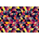 #1: ArtzFolio Triangled 1 Art & Craft Gift Wrapping Paper 18 x 12inch;SET OF 5 PCS