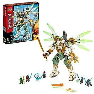 LEGO NINJAGO IlMechTitanodiLloyd, Figura d'Azione, Playset Maestri dello Spinjitzu, 70676  LEGO