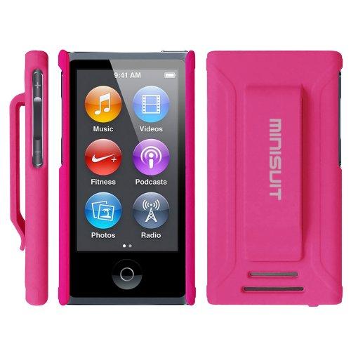 Tragbare Ipod Classic Lautsprecher (MiniSuit pcrubcli-Pin Abdeckung A Schale pink)