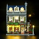 BRIKSMAX Kit de LED pour Le Restaurant Parisien, Compatible avec la Maquette Lego 10243. La Maquette de Construction n'est Pas Incluse....