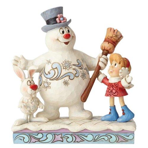 ENESCO Jim Shore Frosty The Snowman Karen and Hocus Pocus Christmas Figurine 6001581