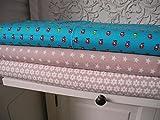Qjutie Lottashaus Jersey no128 Stoffpaket 3 Stück 50x70cm