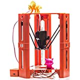 DZW3d Printer Three-Dimensional High-Precision Home Desktop-Level Small 3D Printer Diy Creative Toy Model Ausrüstung 3D Printer 26 * 24 * 30cm Power 20W , orange,Einfach zu gebrauchen