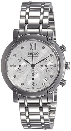 Reloj SEIKO Neo Sports SRW837P1 Mujer Plateado Acero Crónografo