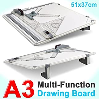 Yaheetech Multi-Function A3 Drawing Board Set Square Graphic Drawing Board set