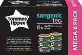 Tommee Tippee Nachfüllkassetten Sangenic tec (6er-Pack) - mehrschichtige Folie für Windelaufbewahrung