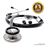 #10: IndoSurgicals Silvery II-SS Stethoscope (Black)