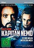 Jules Verne: Kapitän Nemo - 20.000 Meilen unter dem Meer / Der komplette Dreiteiler nach dem gleichnamigen Abenteuerroman (Pidax Serien-Klassiker) [2 DVDs]