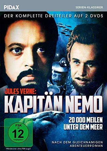 Jules Verne: Kapitän Nemo - 20.000 Meilen unter dem Meer (2 DVDs)