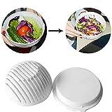 takestop® CIOTOLA TAGLIA PREPARA INSALATA salad cutter VELOCE IN 60 SECONDI AFFETTATRICE VERDURA FRUTTA FRESCA ACCESSORI CUCINA