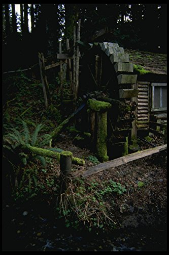266065 Old Water Wheel A4 Photo Poster Print 10x8