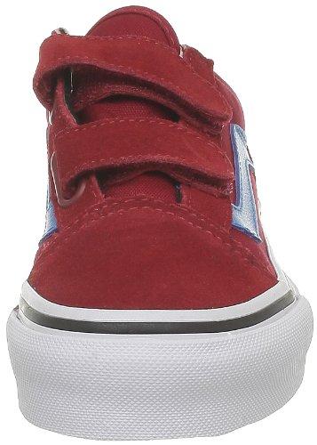Vans Old Skool, Sneaker Unisex – Bambini Rosso (Red)