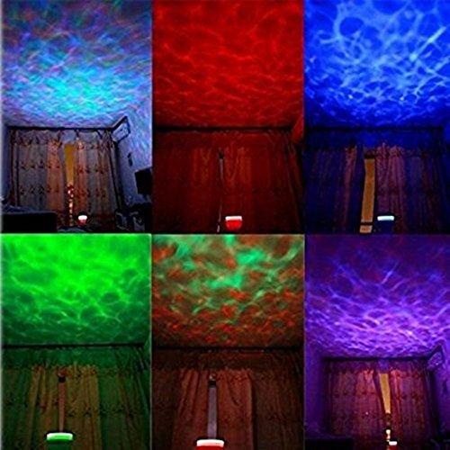 Roman tavolo LED colorato luce 8modalità di