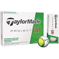 Taylor Made Project A Bolas De Golf, Unisex Adulto, Blanco, Docena