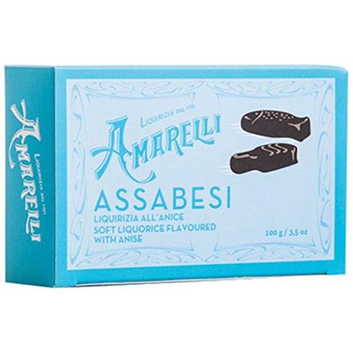 Italian Liquorice Amarelli Assabesi Gums 100g -3.5 oz