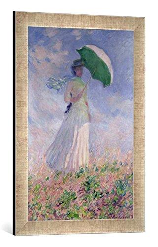 Lady-bild (Gerahmtes Bild von Claude Monet