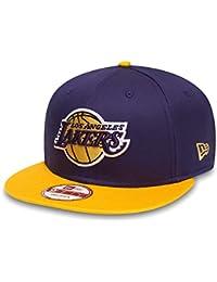 New Era Nba Team 9fifty Los Angeles Lakers Offical Team Colour, Casquette de Baseball Homme