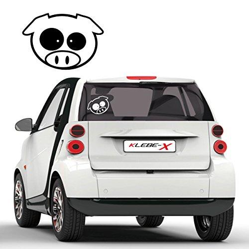 Subie Schwein Sticker JDM Aufkleber Fahrzeug Design Tuning Motive Schweinchen  D014