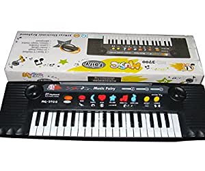 DFS's premium ELECTRONIC MUSIC KEYBOARD PIANO 37 KEYS with Mic Music Fairy 8 Rhythms 3 tones selection 24 DEMO SONGS Volume Tempo control Keyboard