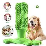 AIDIYA Spazzolino da Denti Giocattolo per Cani per la Cura Orale del Cane, Efficace Pulizia dei Denti, in Gomma per Animali Domestici
