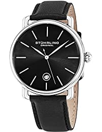 Stuhrling Original Classic Analog Black Dial Men's Watch - 768.02