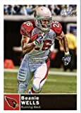 2010 Topps Magic Football Card # 133 Chris Wells - Arizona Cardinals - NFL Trading Card in soft sleeve and/or top load!