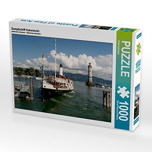 Preisvergleich Produktbild Dampfschiff Hohentwiel: 1000 Teile Puzzle quer