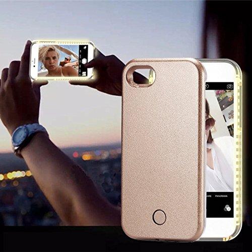 GHC Cases & Covers, Für iPhone 8 & 7 LED leuchten Selfie Smartphone schützende Rückseite Fall ( Size : Ip7g8460cj - Handy Speck Brieftasche