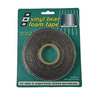 Admiral Tapes, Vinyl-Schaum Klebeband 3 mm x 19 mm x 3 m, 56192