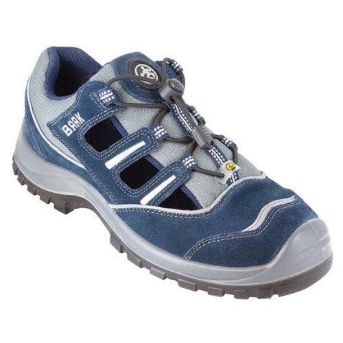 BAAK, 7013, Scarpe di sicurezza Pit Sport S1P ESD scarpe antiscivolo, dimensione 49, blu